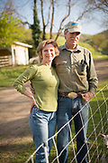 Robert and Cheryl Cosner of Upper Dry Creek Ranch in Weston, Oregon
