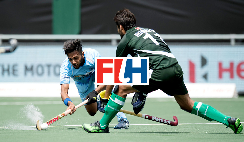 BREDA - Rabobank Hockey Champions Trophy<br /> India - Pakistan<br /> Photo: Harmanpreet Singh.<br /> COPYRIGHT WORLDSPORTPICS FRANK UIJLENBROEK