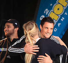 Christchurch-Rugby, RWC, All Blacks meet Christchurch fans