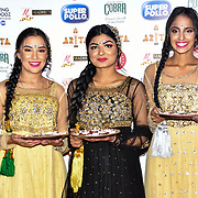 Sapnay danceers preforms at Asian Restaurant & Takeaway Awards | ARTA 2018 at InterContinental London - The O2, London, UK. 30 September 2018.
