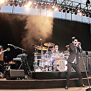 "INXS performs at Chateau Ste Michelle Winery during their ""Original Sin"" Tour, July 17, 2011 in Woodinville, Washington"
