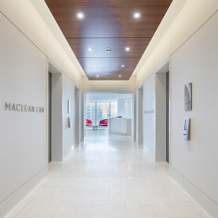 MNP Tower, Vancouver | MacLean Law office interior fitout | Group 5 Interior Design | 2016