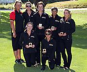 Waikato team placed fourth. 2011 Toro New Zealand Women's Interprovincial, Final Round, Saturday 10 Decmenber 2011. Whakatane Golf Club, Whakatane, New Zealand. Saturday 10 Decmenber 2011. Photo: Mark McKeown/PHOTOSPORT