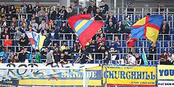 19.05.2019, NV Arena, St. Poelten, AUT, 1. FBL, SKN St. Poelten vs LASK, Meistergruppe, 31. Spieltag, im Bild Fan Sektor SKN St. Poelten // during the tipico Bundesliga Champions group 31st round match between SKN St. Poelten and LASK at the NV Arena in St. Poelten, Austria on 2019/05/19. EXPA Pictures © 2019, PhotoCredit: EXPA/ Thomas Haumer