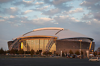 06 November 2011: Exterior image of Cowboy Stadium, home to the Dallas Cowboys in Arlington, TX.