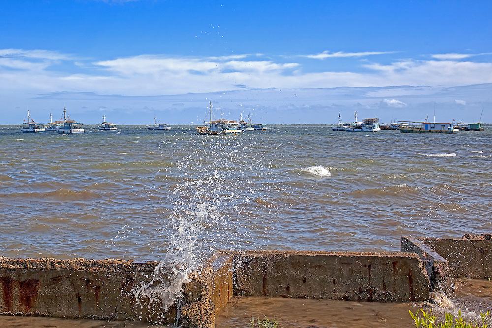 Waterfront in Cortes, Pinar del Rio, Cuba.