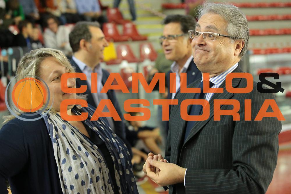 DESCRIZIONE : Roma Lega A 2012-2013 Acea Roma Lenovo Cantu playoff semifinale gara 2<br /> GIOCATORE : Valentino Renzi Anna Cremascoli<br /> CATEGORIA : pre game ritratto<br /> SQUADRA :<br /> EVENTO : Campionato Lega A 2012-2013 playoff semifinale gara 2<br /> GARA : Acea Roma Lenovo Cantu<br /> DATA : 27/05/2013<br /> SPORT : Pallacanestro <br /> AUTORE : Agenzia Ciamillo-Castoria/M.Simoni<br /> Galleria : Lega Basket A 2012-2013  <br /> Fotonotizia : Roma Lega A 2012-2013 Acea Roma Lenovo Cantu playoff semifinale gara 2<br /> Predefinita :