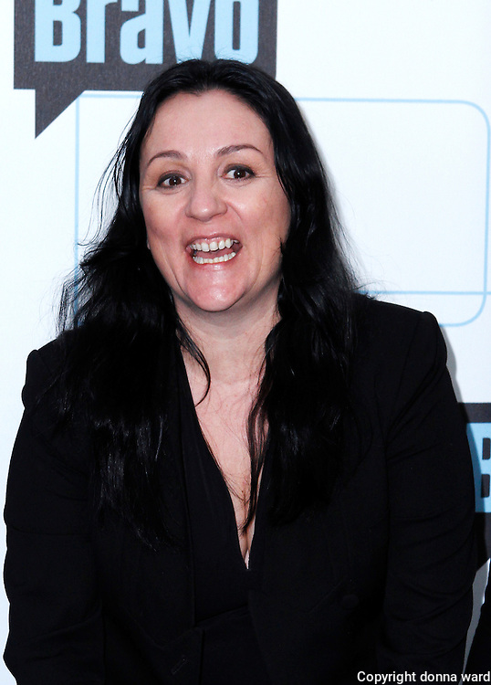Kelly Cutrone attends the 2010 Bravo Media Upfront Party at Skylight Studios in New York City on March 10, 2010.