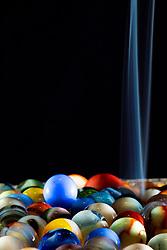 Marbles Smoke Art