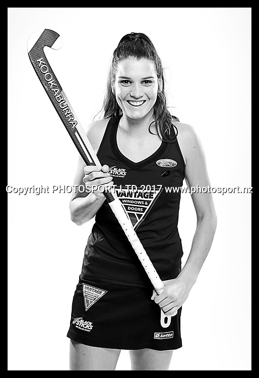 Amy Robinson, New Zealand Black Sticks women, national hockey team photoshoot. Photosport Studio, Auckland. August 2017, Copyright Image: Andrew Cornaga / www.photosport.nz