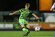 Forest Green Rovers Harvey Bunker(45) during the FA Youth Cup match between Forest Green Rovers and Helston Athletic at the New Lawn, Forest Green, United Kingdom on 29 October 2019.