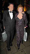 01.DECEMBER.2009 - LONDON<br /> <br /> CILLA BLACK AND JOHN MADEJSKI LEAVING THE MORGAN'S AWARD'S 2009 HOSTED BY PIERS MORGAN AT THE MANDARIN ORIENTAL HOTEL IN KNIGHTSBRIDGE LONDON<br /> <br /> BYLINE: EDBIMAGEARCHIVE.COM<br /> <br /> *THIS IMAGE IS STRICTLY FOR UK NEWSPAPERS &amp; MAGAZINES ONLY*<br /> *FOR WORLDWIDE SALES &amp; WEB USE PLEASE CONTACT EDBIMAGEARCHIVE-0208 954 5968*