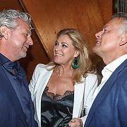 NLD/Amsterdam/20150604 - Boekpresentatie advocaat Mark Teurlings, Rene van Dam en partner Karin