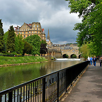 Walking Paths in Bath, England<br />