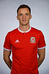 NANNING, CHINA - Saturday, March 24, 2018: Wales' Andy King during a squad photo shoot at the Wanda Realm Hotel on day five of the 2018 Gree China Cup International Football Championship. (Pic by David Rawcliffe/Propaganda)