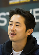 February 8, 2014, New Orleans, LA, Actor Steven Yeun at Comic Con, best known for  his current role as Glenn Rhee  in the AMC hit television series The Walking Dead. <br /> The Walking Dead premiered in 2010 and is into its fourth season.