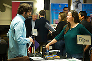 Job Fair at the Student Water Conference 2016 at Oklahoma State University