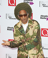 Don Letts, The Q Awards 2017 - Red Carpet Arrivals, Roundhouse, London UK, 18 October 2017, Photo by Brett D. Cove
