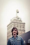 Musician Mike McMonagle Portrait taken at Tellus360 in Lancaster, PA  Jason Hurst Photography