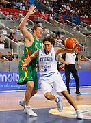 DESCRIZIONE : Madrid Spagna Spain Eurobasket Men 2007 Italia Lituania Itlay Lithuania <br /> GIOCATORE : Marco Mordente <br /> SQUADRA : Nazionale Italia Uomini <br /> EVENTO : Eurobasket Men 2007 Campionati Europei Uomini 2007 <br /> GARA : Italia Lituania Italy Lithuania <br /> DATA : 08/09/2007 <br /> CATEGORIA : Penetrazione Molten<br /> SPORT : Pallacanestro <br /> AUTORE : Ciamillo&amp;Castoria/T.Wiedensohler <br /> Galleria : Eurobasket Men 2007 <br /> Fotonotizia : Madrid Spagna Spain Eurobasket Men 2007 Italia Lituania Italy Lithuania <br /> Predefinita :