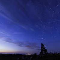 ISS flies high above Dolly Sods Wilderness, WV
