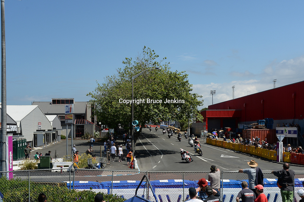 At the Cemetery Circuit Road Races, Wanganui, Boxing Day which was the 3rd and final round of the 2014 Suzuki Series