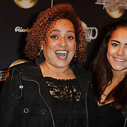 NLD/Amsterdam/20120217 - Premiere Saturday Night Fever, Lilian Day Jackson en dochter