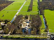 Nederland, Noord-Holland, Hilversum, 16-04-2012; 's-Gravenland, Zuidereind. Huis Buitenplaats en Huis De Trompenburgh..QQQ.luchtfoto (toeslag), aerial photo (additional fee required);.copyright foto/photo Siebe S