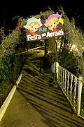 Belo Horizonte_MG, Brasil...Entrada de uma festa junina...The entrance of june party...Foto: VICTOR SCHWANER / NITRO