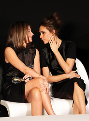 Natalie Massenet , Chairman of the British Fashion Council and Victoria Beckham at the 2013 International Woolmark Prize final  in London, 2013, Saturday, 16th February 2013  Photo by: Stephen Lock / i-Images
