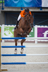 Gerco Schroder, (NED), Glocks London NOP - Jumping Second Round Team Competition - Alltech FEI World Equestrian Games™ 2014 - Normandy, France.<br /> © Hippo Foto Team - Dirk Caremans<br /> 04/09/14