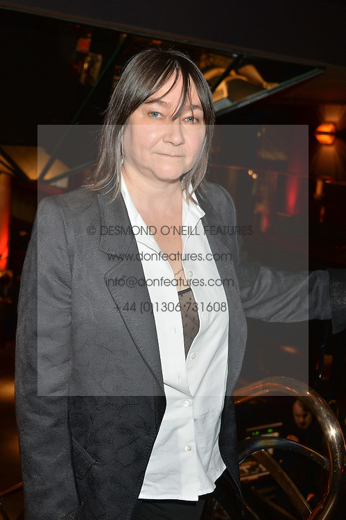 Finalist ALI SMITH at the 2014 Costa Book of The Year Awards held at Quaglino's, Bury Street, London on 27th January 2015.  The winner of the Book of The Year was Helen Macdonald for her book H is for Hawk.