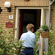 Overval tankstation BP Holleblok Huizen, buurtonderzoek politie