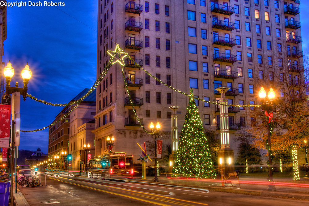Christmas in City 2014 Gay Street, Knoxville, Tn.