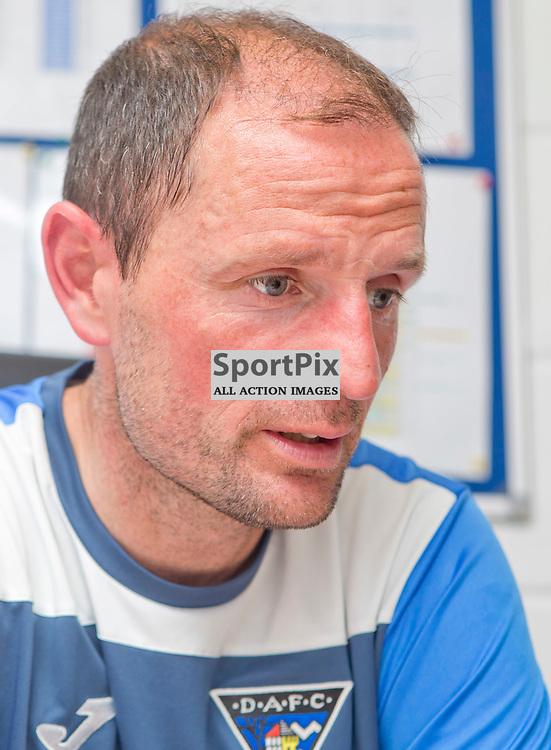 DAFC Presser East End Park 13 August 2015<br /> Allan Johnston previews saturdays game against Cowdenbeath<br /> (c) CRAIG BROWN | SportPix.org.uk