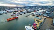 Aberdeen Port, Scotland