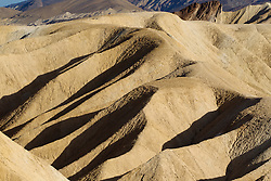 Badlands at Zabriskie Point, Death Valley National Park, California, United States of America