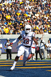 BERKELEY, CA - OCTOBER 03:  Running back Gerard Wicks #23 of the Washington State Cougars celebrates after scoring a touchdown against the California Golden Bears during the second quarter at California Memorial Stadium on October 3, 2015 in Berkeley, California. (Photo by Jason O. Watson/Getty Images) *** Local Caption *** Gerard Wicks