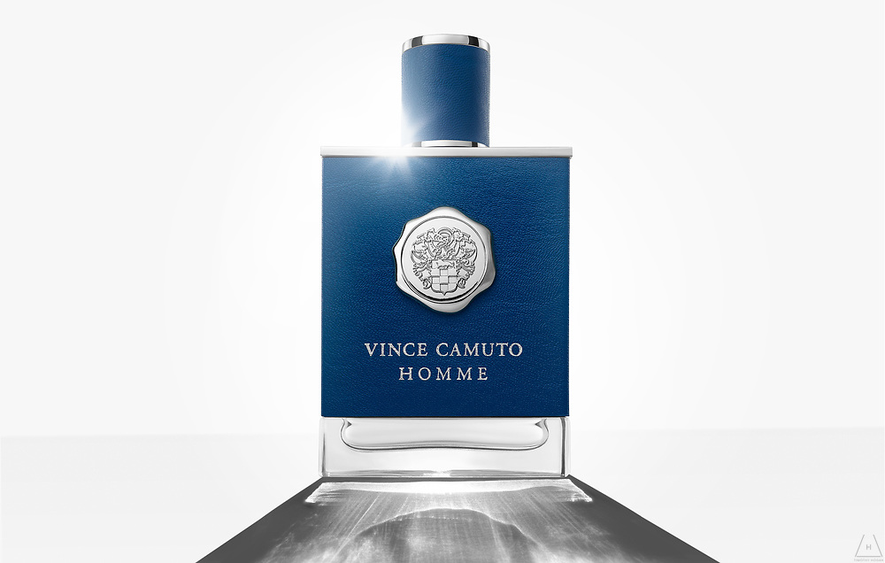 Vince Camuto fragrance advertising photographs by Los Angeles based photographer Timothy Hogan.