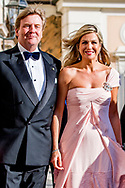 21- 6-2017 ROME  - Koning Willem-Alexander en Koningin Maxima Contraprestatie  Prins Jaime de Bourbon de Parme en prinses Viktoria de Bourbon de Parme en prinses Christina <br /> In de Palazzo Colonna  president Mattarella en Laura Mattarella.   . 4 daags staatsbezoek van Koning Willem-Alexander en koningin Maxima aan de Republiek Itali&euml; en de Heilige Stoel in Vaticaanstad . COPYRIGHT ROBIN UTRECHT <br /> <br /> 21- 6-2017 ROME - King Willem-Alexander and Queen Maxima Contra Performance<br /> In the Palazzo Colonna President Mattarella and Laura Mattarella. . 4-day state visit of King Willem-Alexander and Queen Maxima to the Republic of Italy and the Holy See in Vatican City. COPYRIGHT ROBIN UTRECHT