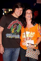 O músico Paulo Ricardo durante encontro com patrocinadores no Vip Lounge do Planeta Atlântida 2013/SC, que acontece nos dias 11 e 12 de janeiro no Sapiens Parque, em Florianópolis. FOTO: Marcos Nagelstein/Preview.com
