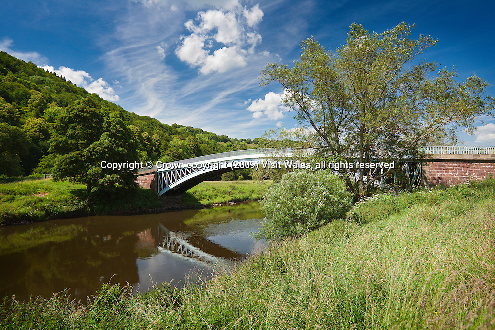 Bigsweir Bridge (over River Wye)<br /> Wye Valley<br /> Monmouthshire<br /> South<br /> Roads<br /> Transport
