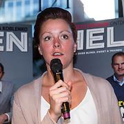 NLD/Amsterdam/20150202 - Presentatie sportblad Helden 25, Jorien ter Mors