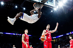 Paul Biligha of Italy during basketball match between National Teams of Italy and Serbia at Day 14 in Round of 16 of the FIBA EuroBasket 2017 at Sinan Erdem Dome in Istanbul, Turkey on September 13, 2017. Photo by Vid Ponikvar / Sportida