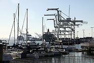 Oakland, CA port