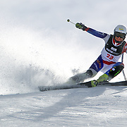 Priska Nufer, Switzerland, in action during the Women's Slalom event during the Winter Games at Cardrona, Wanaka, New Zealand, 24th August 2011. Photo Tim Clayton...