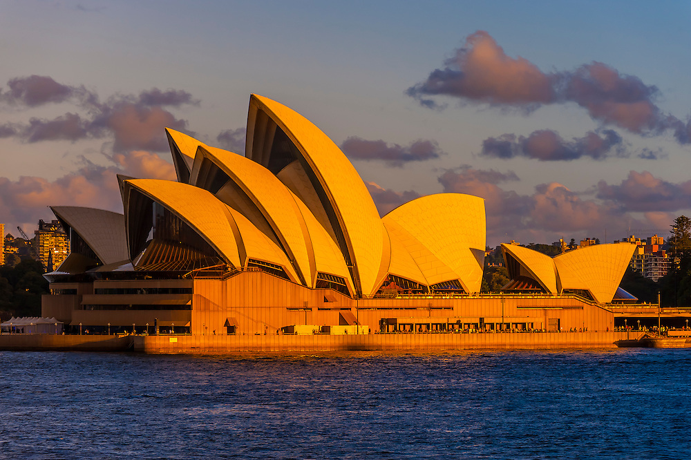 Sydney Opera House, Bennelong Point, Sydney Harbor, Sydney, New South Wales, Australia