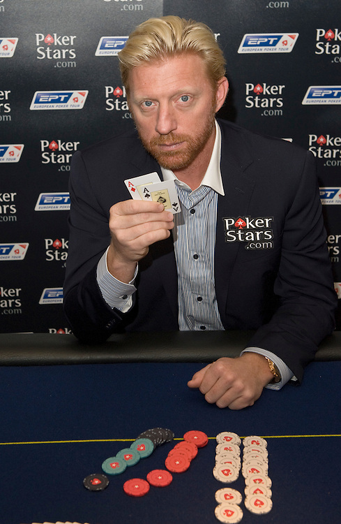 London Oct 1st Boris Becker  appearing at the launch of the London European Poker Tour on October 1st in London at Casino Victoria *Unbylined uses will incur an additional discretionary fee!*