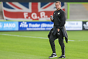 Forest Green Rovers manager, Mark Cooper during the Pre-Season Friendly match between Forest Green Rovers and Cardiff City at the New Lawn, Forest Green, United Kingdom on 13 July 2016. Photo by Shane Healey.