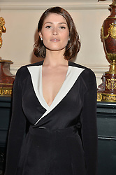 GEMMA ARTERTON at the Audi Ballet Evening at The Royal Opera House, Covent Garden, London on 23rd April 2015.
